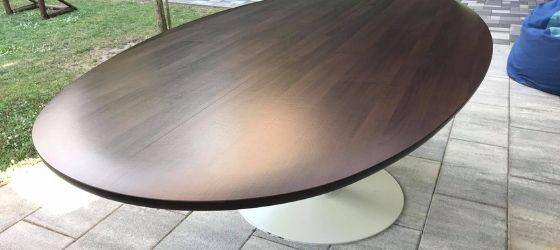 Ebédlő asztal bútor fóliázás